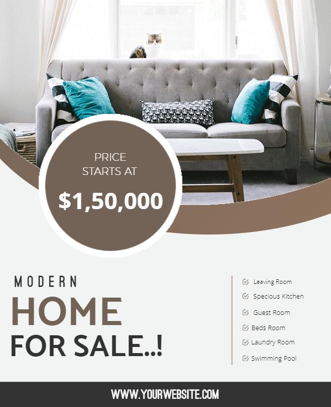 Property for Sale Flyer design Ideas