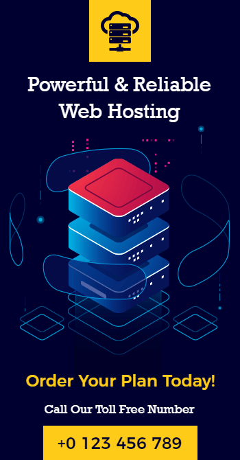 web hosting flyer design ideas