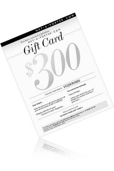 gift card of Net-a-Porter