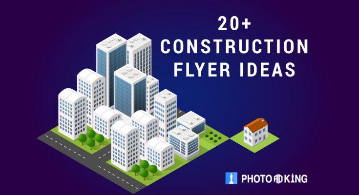 Construction flyer ideas