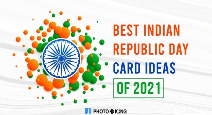 Republic day card ideas