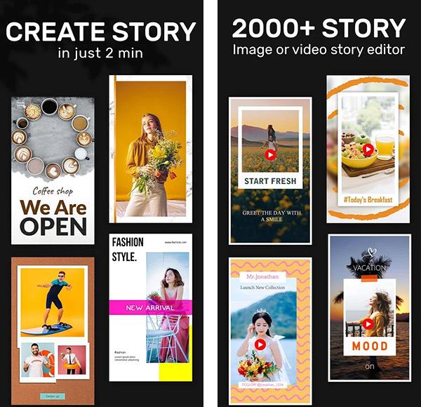 1SStory - Insta Story Art Editor & Collage Maker app image