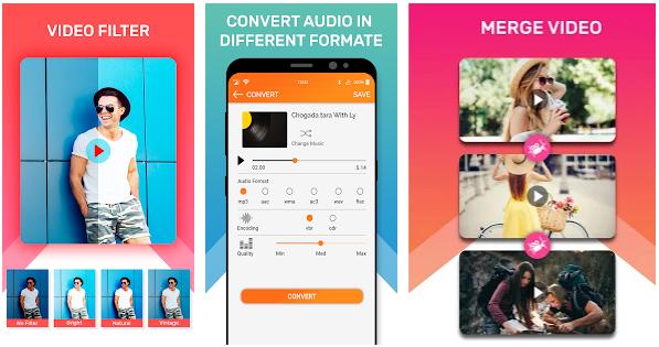 Video Editor, MP3 Converter, Ringtone Maker app image