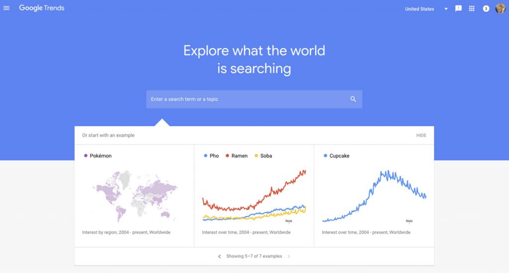 Image of Google Trend
