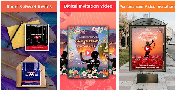 Video Invitation Maker app image