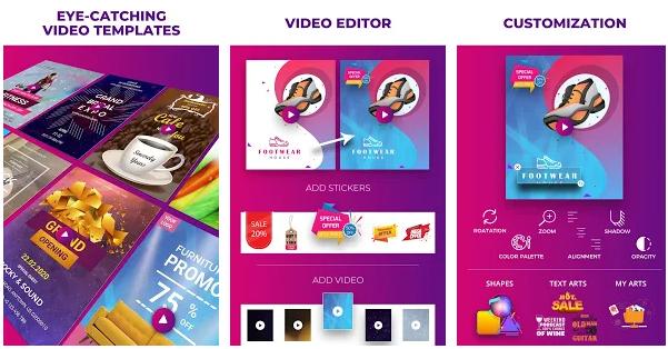 Video Flyers - Flyer Maker, Make Poster, Video Ads app image