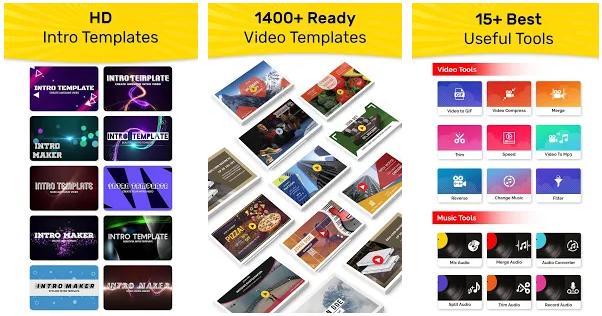 Intro Maker, Promo Video Maker, Ad Creator app image