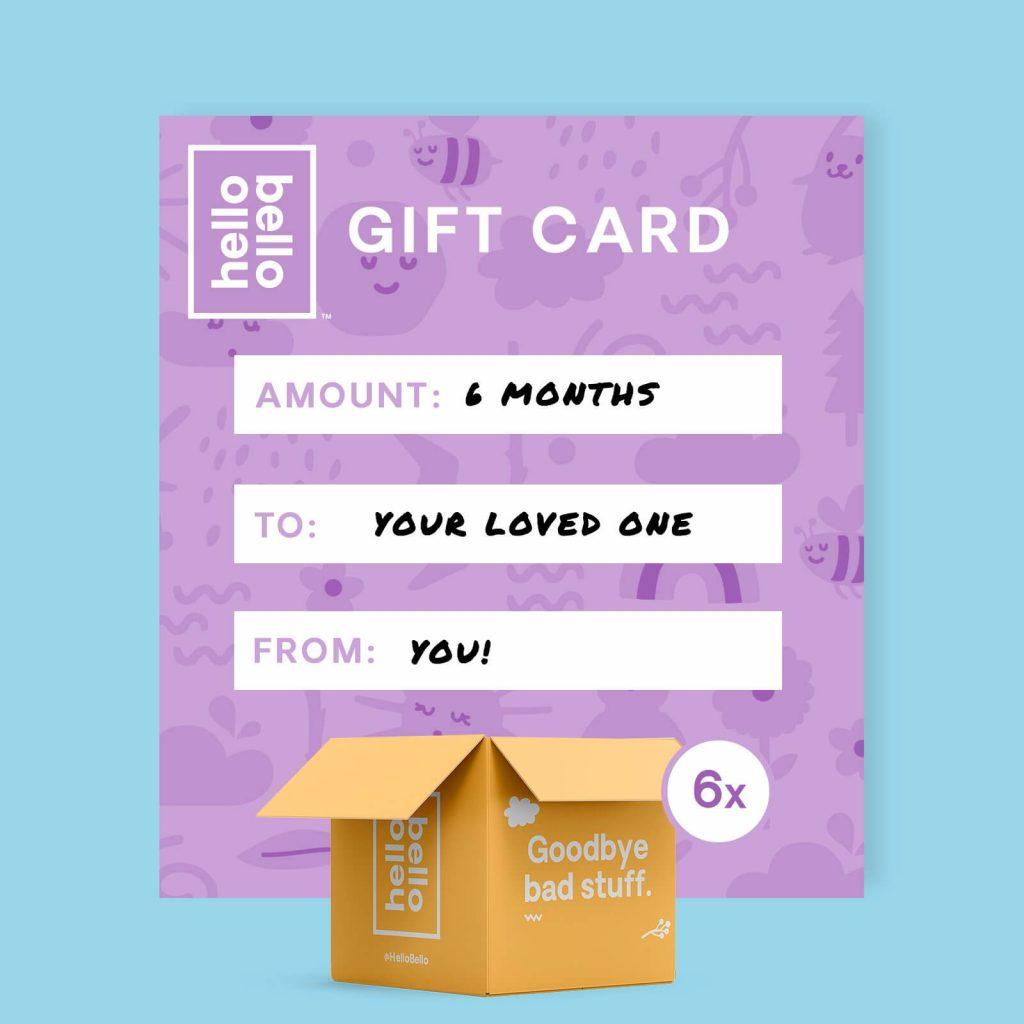 gift card sample