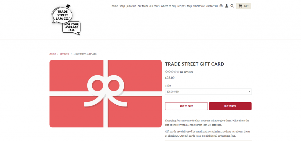 gift card idea