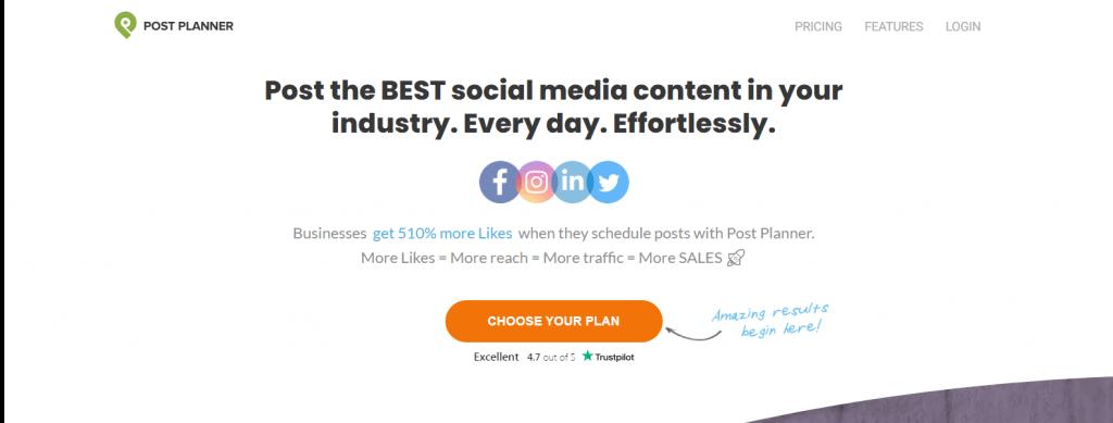 Post Planner - facebook marketing tool