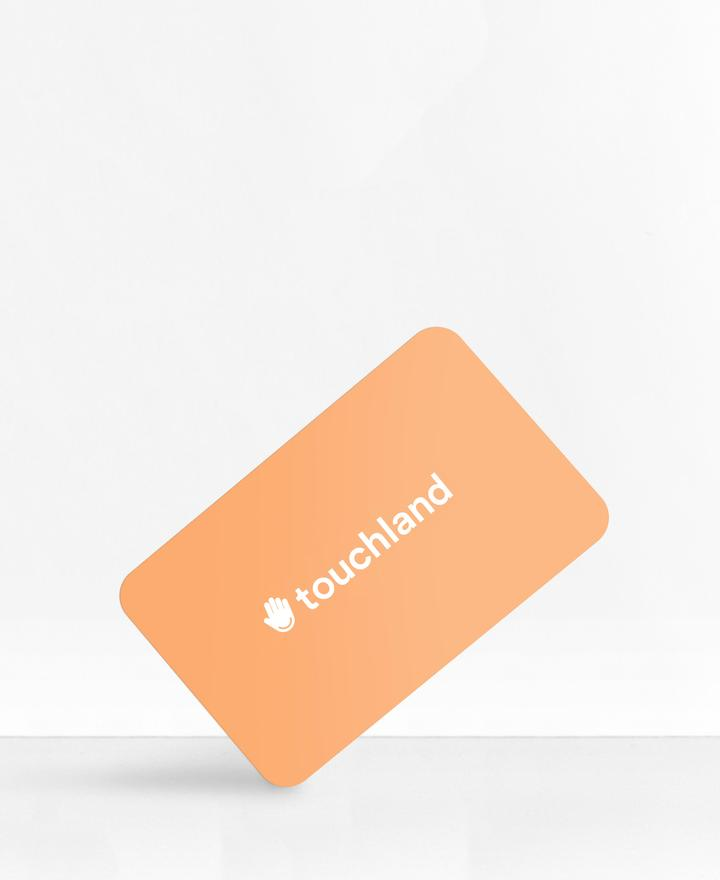 Touchland gift card