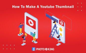 How to make youtube thumbnail