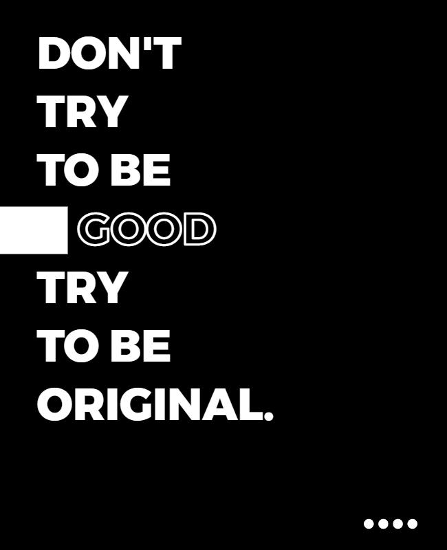 Typography Poster idea