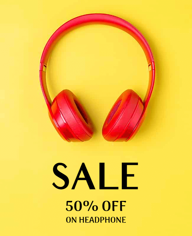 Sale & Discount Poster example