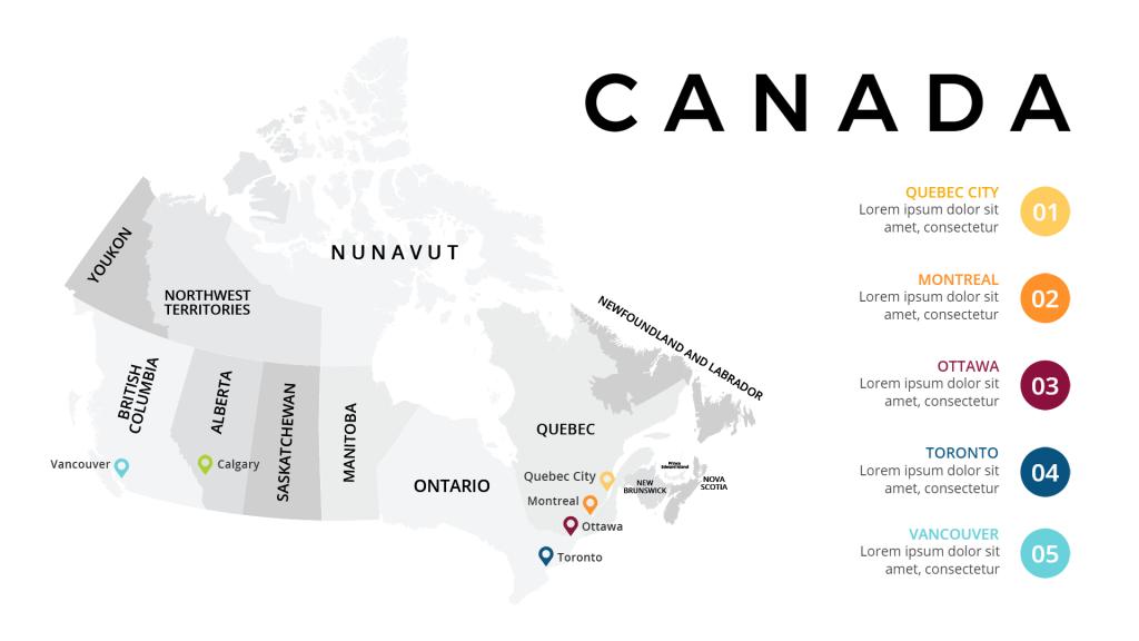 geographic infographic idea