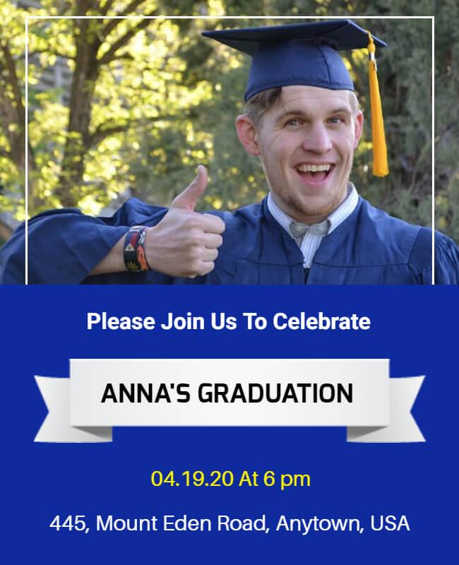 graduation Announcement Template Ideas