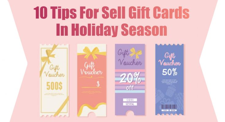 10 tips for sale gift cards