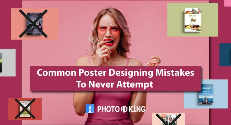 Poster Designing mistakes