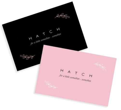 Hatch gift card