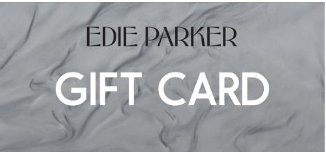 Edie Parker gift card