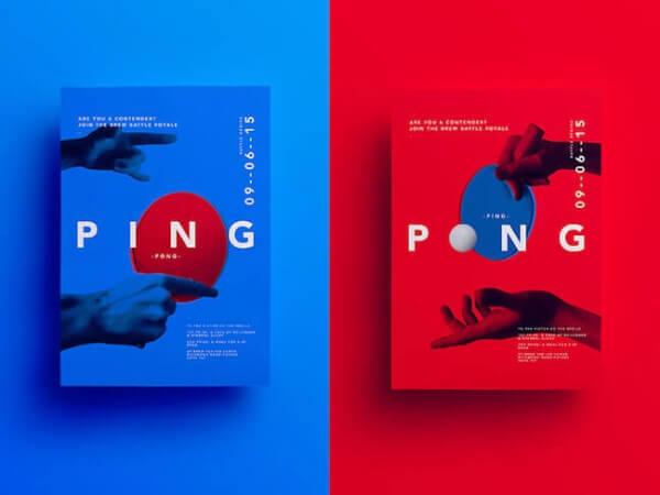 Minimalist poster design sample