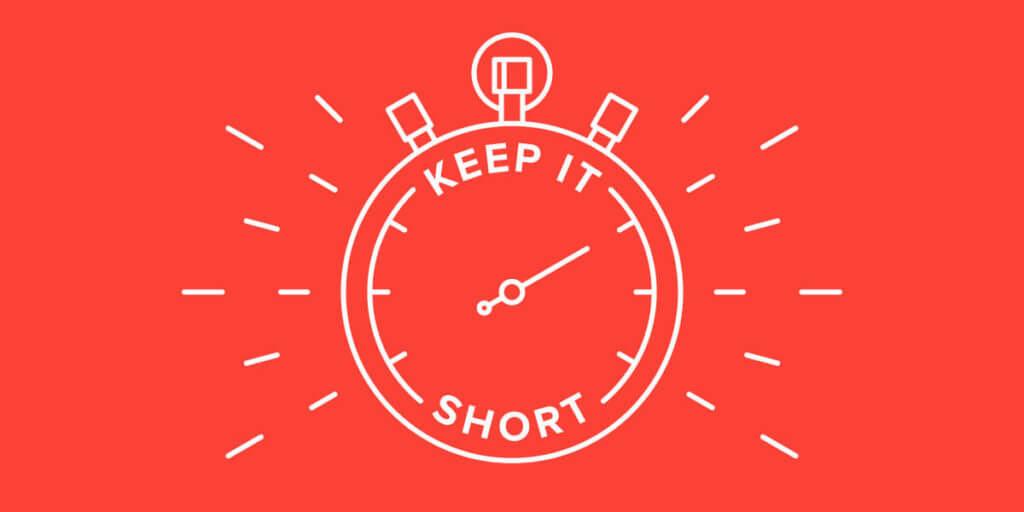 keep it short image