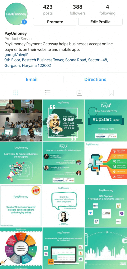 ayUmoney instagram profile