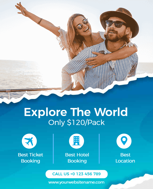 travel template example