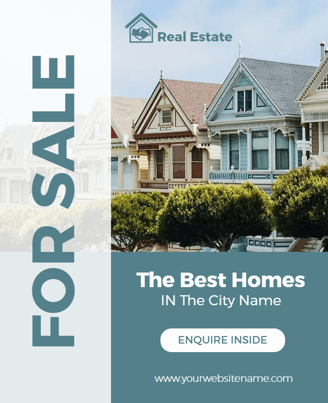 real estate template example