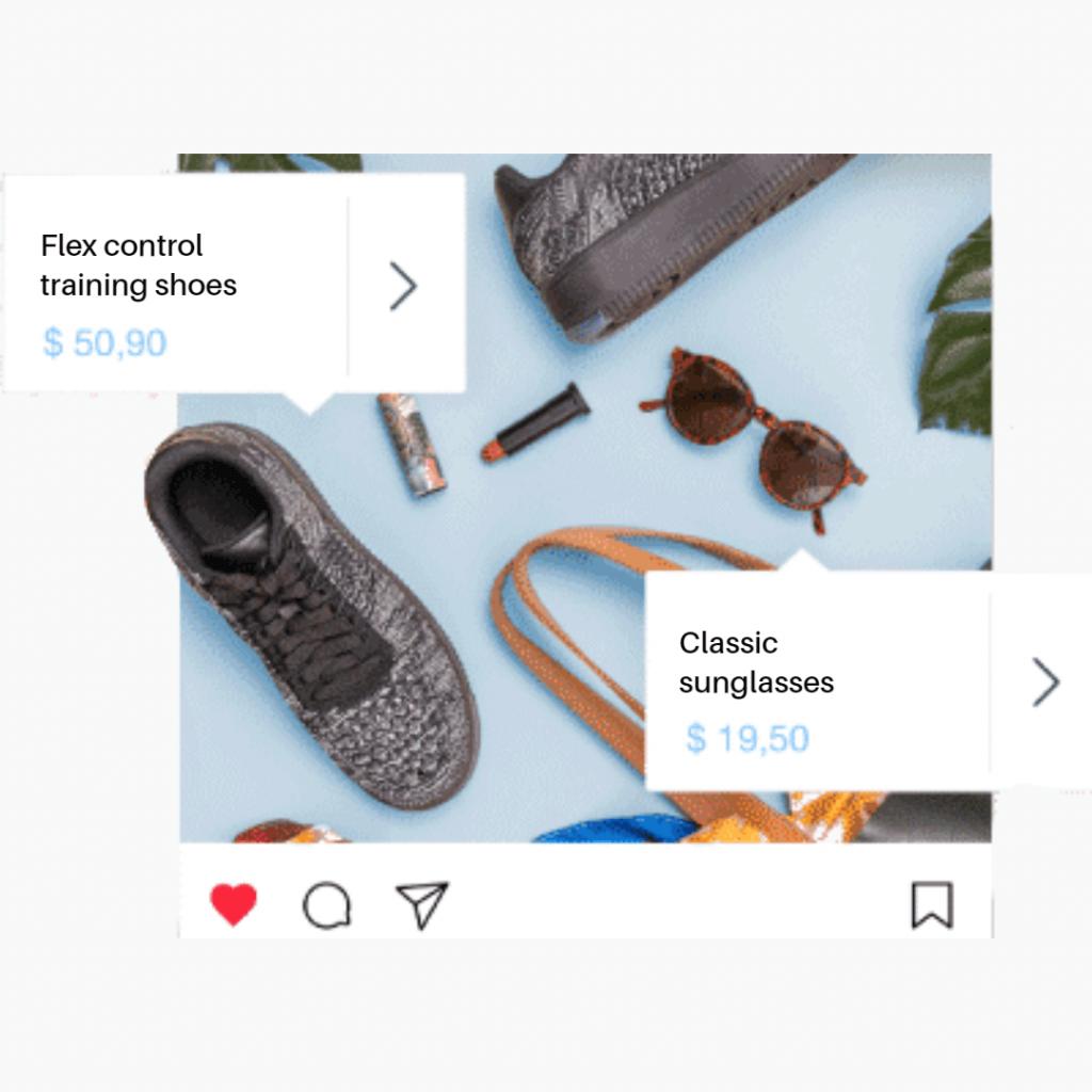 instagram shoppable post type