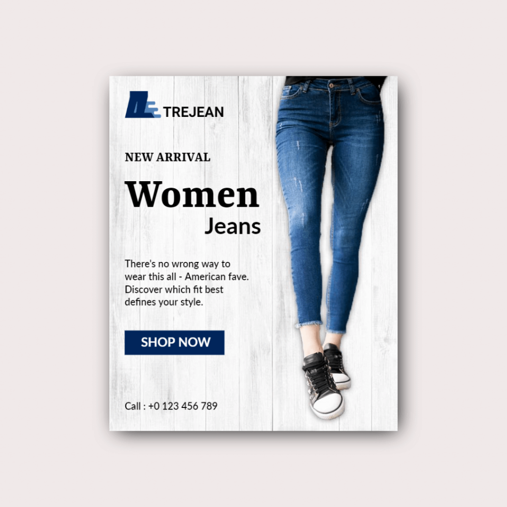 advertising design template example
