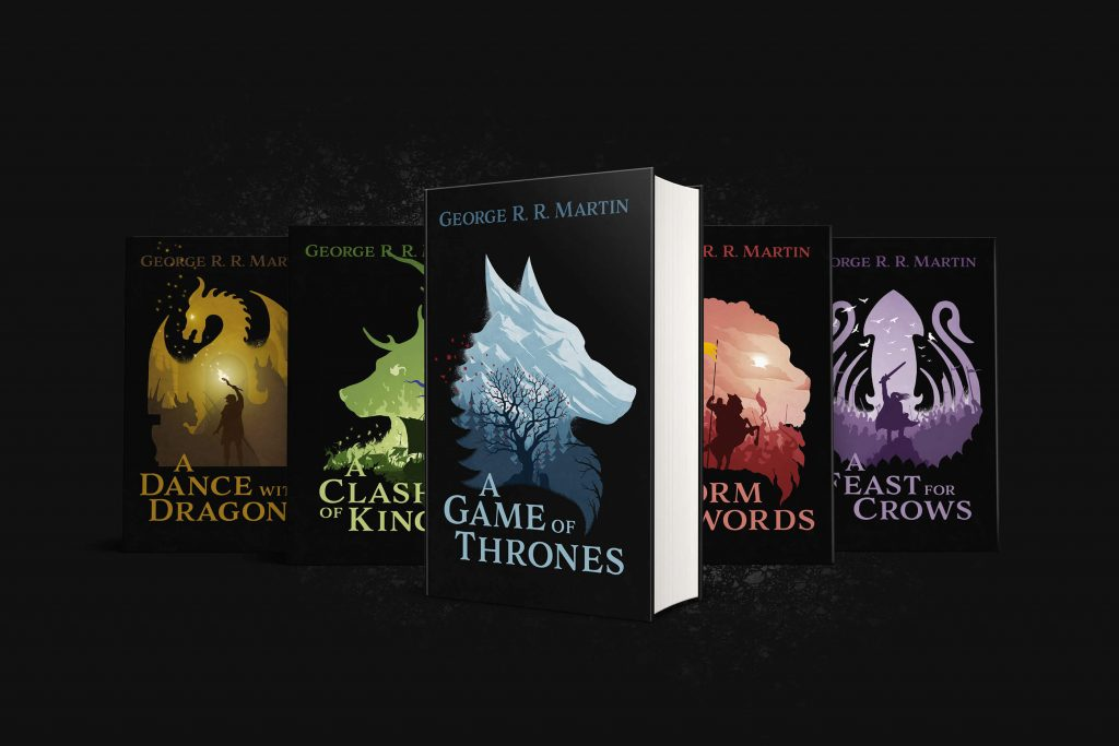 Book cover of Game of Thrones via Behance