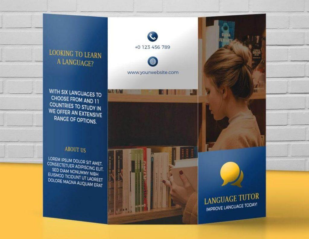 brochure design idea
