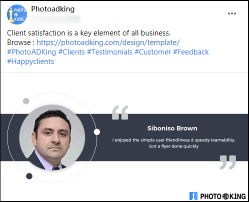 PhotoADKing client review