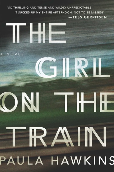 The Girl On The Train book cover via Standout Books