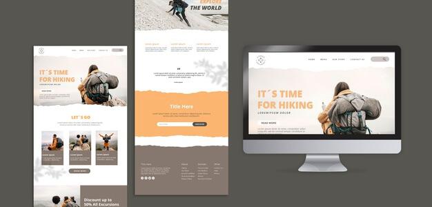 web or mobile app graphic design image