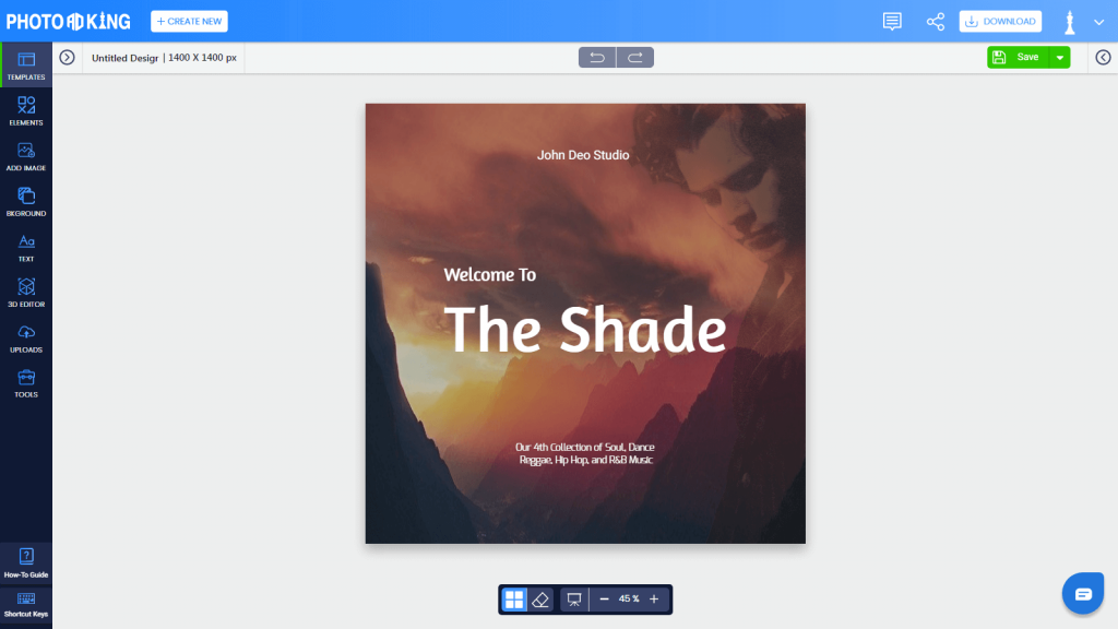 PhotoADKing preview template