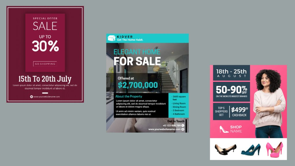 Sales Flyer Templates