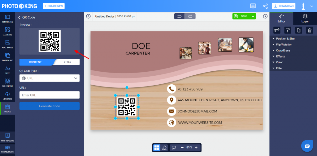 Customize The Modules Of The QR Code