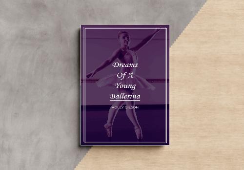 book cover template design