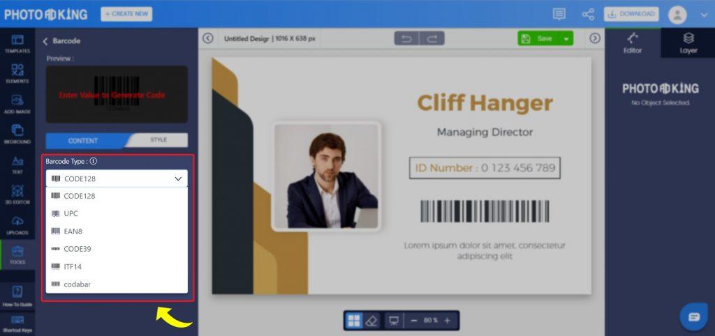 online barcode
