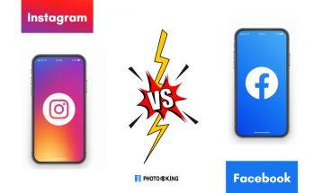 Instagram vs. facebook